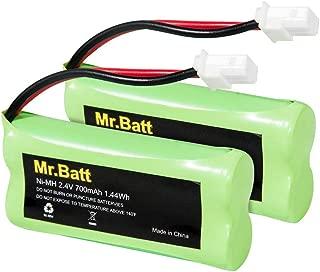BT183342 BT283342 BT162342 BT262342 BT166342 BT266342 Phone Battery for Vtech CS6719 CS6419 CS6649 DS6151 AT&T CL4940 EL52300 Cordless Phone and Handset (2 Pack)
