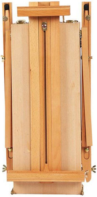 Dwhui Professionelle Falt Kunst Holz Holzstaffelfarbe Skizze Zeichnungs Kasten Stativstnder Für lmalerei Skizzieren Lackier Materialien