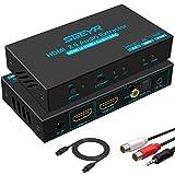 SGEYR HDMI 2.0 Audio Extractor Optical 4K Converter HDMI Audio Extractor...