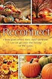 General Worship Bulletin -'Reconnect' - Seasons Series - Fall - KJV Scripture - (Package of 100)
