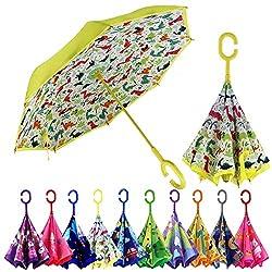 2. MRTLLOA Kids Dinosaur Umbrella