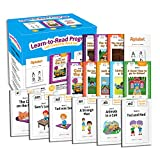 Learn-to-Read 145 Book-Set Reading Program for Children - Includes 50 Sight Word Books, 94 Phonics Books and 1 Alphabet Book - Leveled Beginning Books – PreK, Kindergarten, 1st Grade to 7 Year