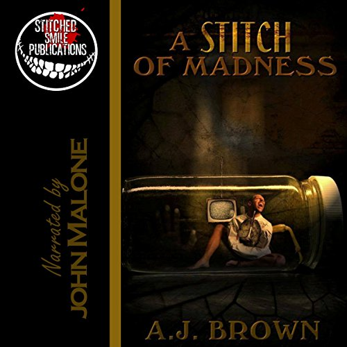 A Stitch of Madness audiobook cover art