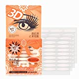 Ultra Invisible Double Side Sticky Eyelid Tape Stickers Fiber, Perfect for Hooded, Droopy, Uneven, or Mono-eyelids(Wide)