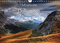 Mystische Dolomiten (Wandkalender 2022 DIN A4 quer): Traumreise in die mystische Welt der zauberhaften Dolomiten. (Monatskalender, 14 Seiten )