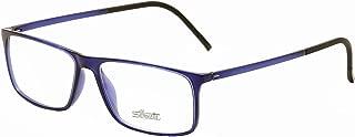 Silhouette Eyeglasses SPX Illusion 2892 6051 Indigo Optical Frame 56x15x145mm