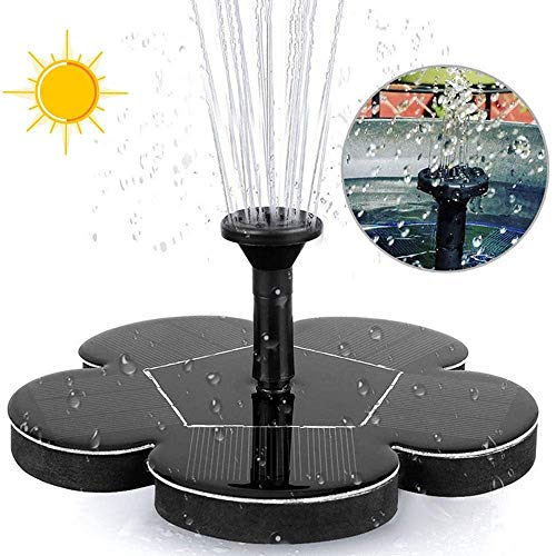 lqgpsx Solarwasserbrunnenpumpe Bewässerungsset Power Solarpumpe Pool Teich Sprinkler Tauchwasserfall Schwimmender Solarpanel Wasserbrunnen Für Vogelbad Gartendekoration Aquarium Pool