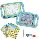Pizarra Magnética para Niños Tablero de Dibujo Magnético Infantil Tableta Magnética Doble Cara...