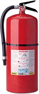 Kidde 466206 Pro 20 MP Fire Extinguisher, UL Rated 10-A, 80-B:C, Red