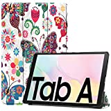 Lobwerk Schutzhülle für Samsung Galaxy Tab A7 SM-T500 T505 Slim Hülle Etui mit Standfunktion & Auto Sleep/Wake Funktion