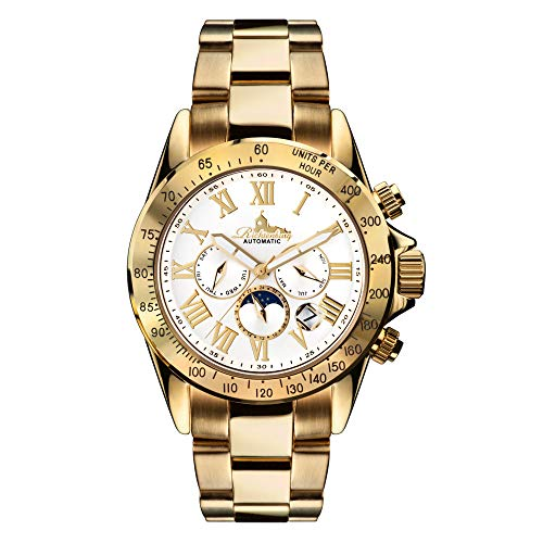 Richtenburg Reloj Analógico para Hombre de Automático con Correa en Acero Inoxidable 81145