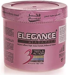 Elegance 3 Triple Action Styling Hair Gel