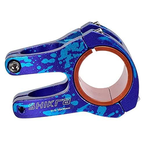 unknows ETSK Stelo Colorato In Lega di Alluminio MTB Colorato Downhill Stem Manubrio Corto