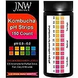 JNW Direct pH Test Strips for Kombucha Brewing, pH 0-6, 150 Strip MEGA Pack, Perfect Kombucha...