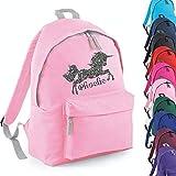 Personalised Unicorn Name Backpack Rucksack School bags Girls Personalised Bags