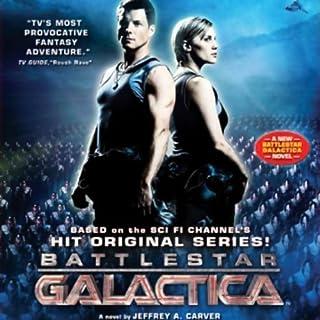 Battlestar Galactica audiobook cover art