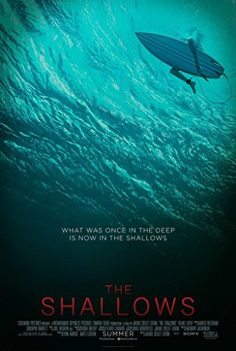 THE SHALLOWS MOVIE POSTER 2 Sided ORIGINAL 27x40 BLAKE LIVELY