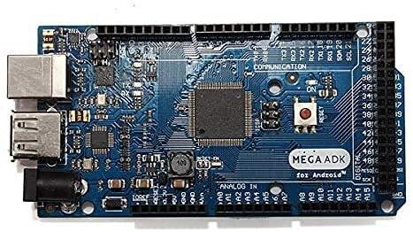 Datauya Junta Principal y cinturón de Desarrollo, BO Mega ADK R3 ATMEGA2560 Módulo con Cable USB, para la Junta de Desarrollo de Arduino