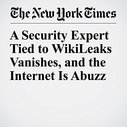 A Security Expert Tied to WikiLeaks Vanishes, and the Internet Is Abuzz copertina