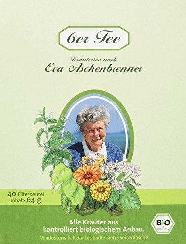 Herbaria Eva Aschenbrenner 6er Tee 40FB, 1er Pack (1 x 64 g) - Bio