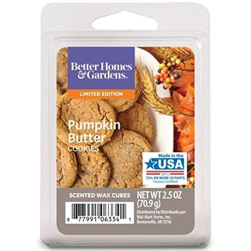 Better Homes and Gardens Pumpkin Butter Cookies Wax Cubes
