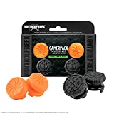 KontrolFreek Gamperpack VX 2.0 Vortex + Battle Royale Nightfall Performance Thumbsticks for Xbox One | 1 High-Rise, 1 Mid-Rise (Vortex) 2 High-Rise (Nightfall)