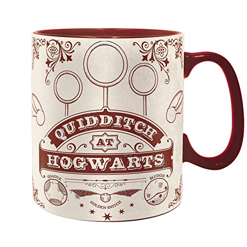 ABYstyle - Harry Potter - Taza - 460 ml - Quidditch