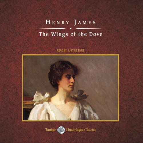 The Wings of the Dove audiobook cover art