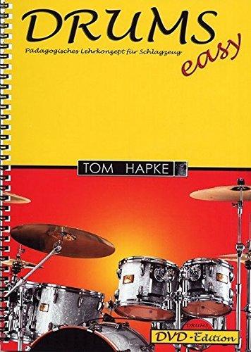 DRUMS easy. Pädagogisches Lehrkonzept für Schlagzeug. DVD-Edition by Tom Hapke (2004-10-07)