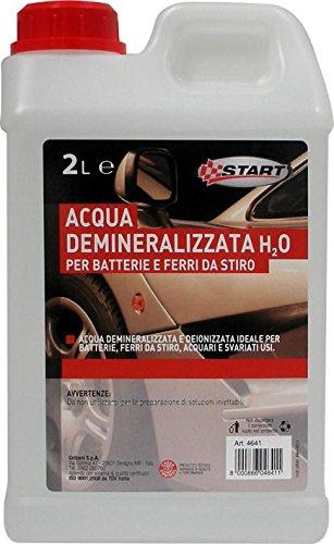 START agua desmineralizada 2La Mantenimiento de inicio y la emergencia del coche