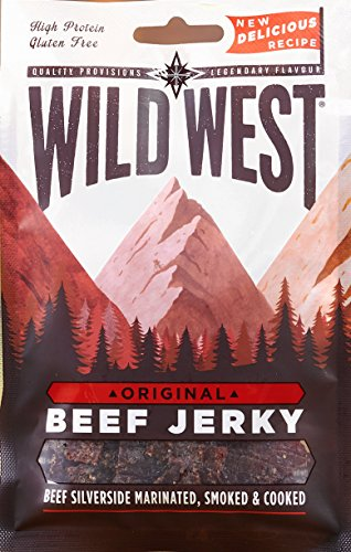 Wild West Original Beef Jerky, 35 g, Pack of 12