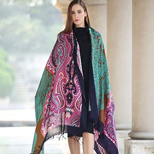 Ztweijin winter luxe merk plaid sjaal vrouwen grote deken wrap lange sjaal vrouwen doeken en sjaals