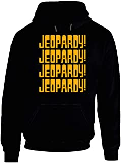 Jeopardy Game Show Tv Hoodie. Black