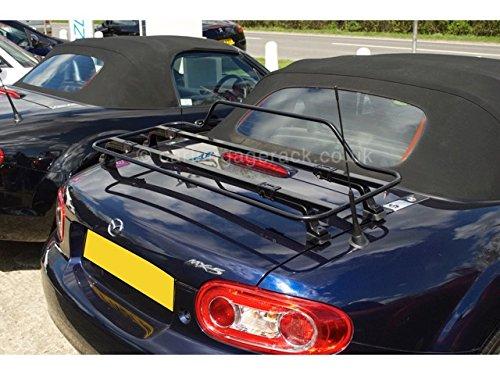 carluggagerack.co.uk MAZDA MX5 MK 3 LUGGAGE RACK BLACK BOOT RACK