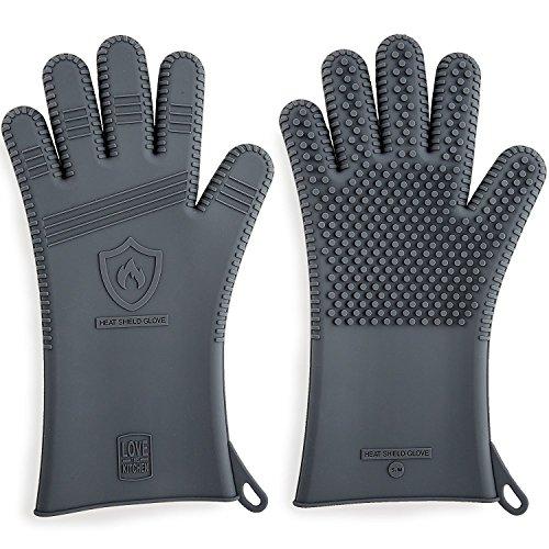 Premium Silicone BBQ & Grill Gloves