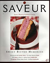 Saveur Magazine No 41 March 2000 -Sweet Bistro Memories (No 41) [Paperback]