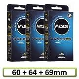 My.Size preservativi - set di prova 3x10(per 10x 60, 64, 69mm)