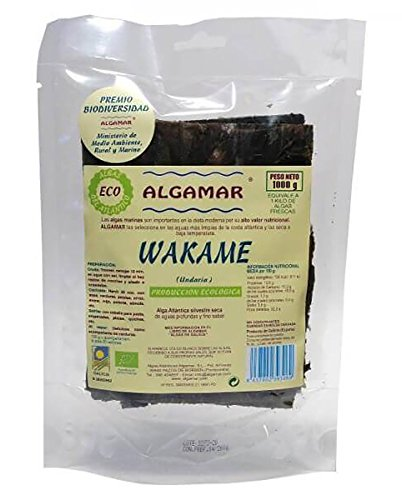 Alga wakame ecológica Algamar 1kg.
