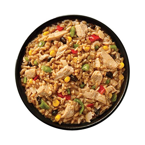 Simple Sensations Chicken Fajita Bowl - 1 Serving - Freeze Dried Gluten Free Meal