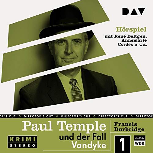 Paul Temple und der Fall Vandyke. Original-Radio-Fassung Titelbild