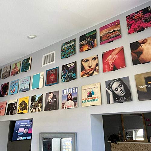 Vinyl Album Wall Mount Stand   Record Wall Mount   Set of 6