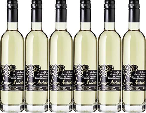 6x Vieille Eau de Vie de Marc de Provence L'aigo Ard - Distillerie Grap Sud, Provence
