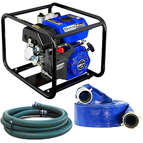 DuroMax XP650WP-SHK 7 HP 220 GPM 3600 RPM 3' Gas Engine Water Pump Kit