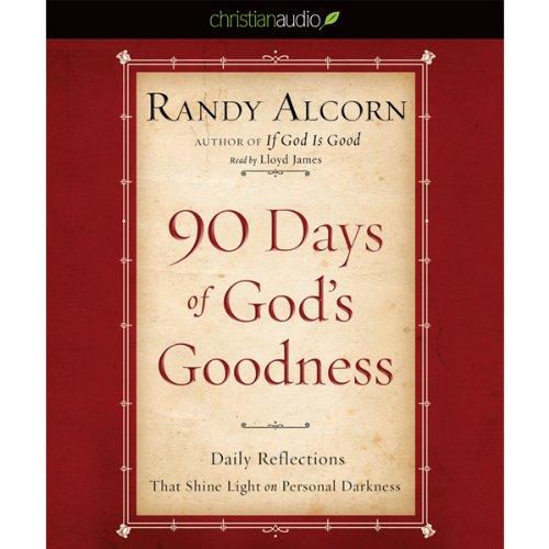 90 Days of God's Goodness audiobook cover art