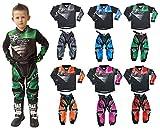 Motocicletta Wulf Firestorm Kids Race Suit New 2018motocross Quad off Road...