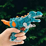 RK-HYTQWR Robot Dinosaurio Pistolas de Agua Juguetes Niños Pistola de Agua para niños Natación en la Playa de Verano, Pistola de Dinosaurio deformada