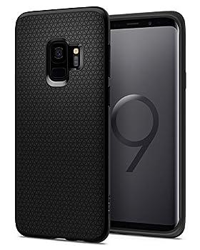 Spigen Liquid Air Armor Designed for Samsung Galaxy S9 Case  2018  - Matte Black