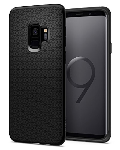 Spigen Funda Liquid Air Compatible con Samsung Galaxy S9 - Negro Mate