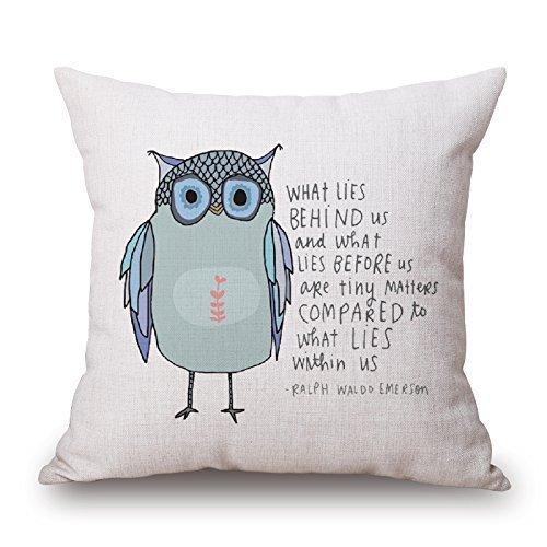 yting Artistdecor Bird Pillow Cover PillowFor Valentine, Bar, Fils, Anniversaire, Salon de Dessin, Filles avec Deux côtés