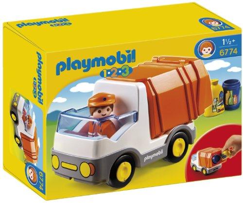 Playmobil: 1.2.3 Camión de basura  6774